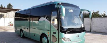 noleggio minibus king long bari